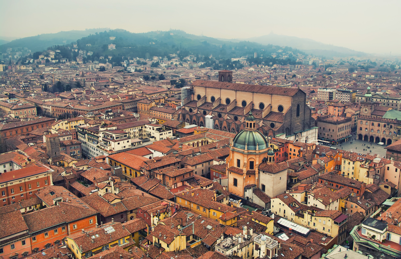 One of Bologna's main attractions is its Centro Storico.
